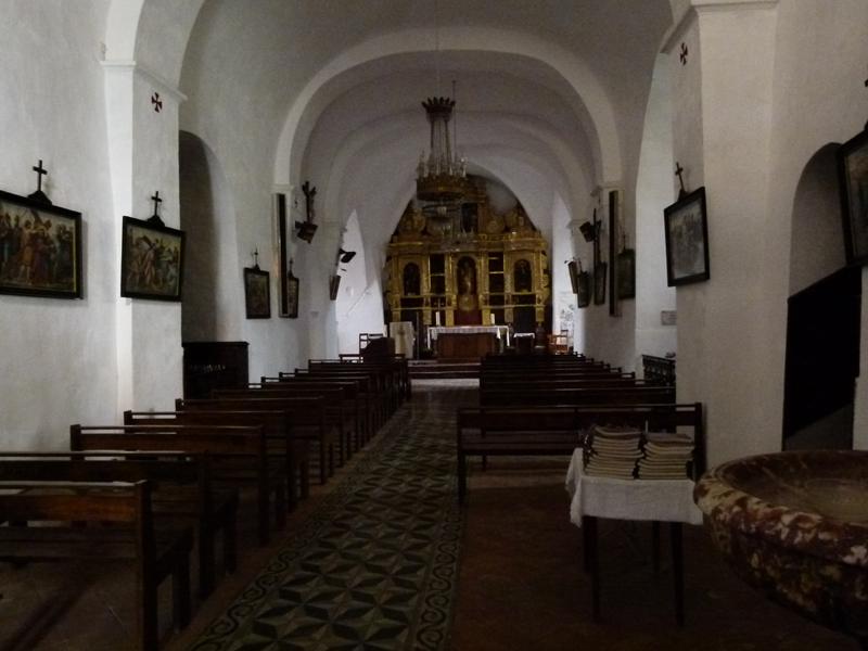 Palalda Interior of St Martin Church  © 2012 Scotiana