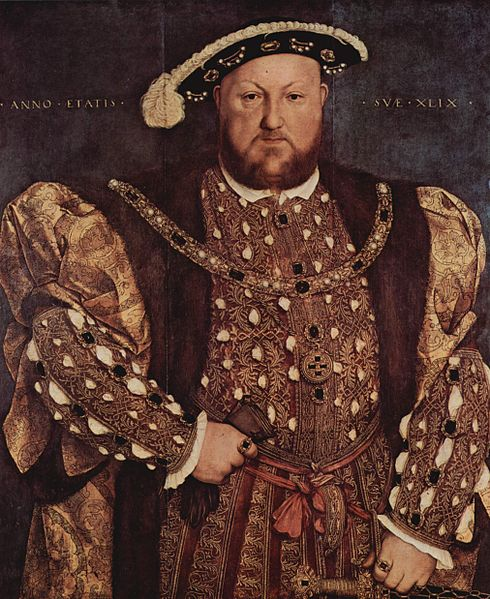 The English King Henry VIII by Hans Holbein Wikipedia