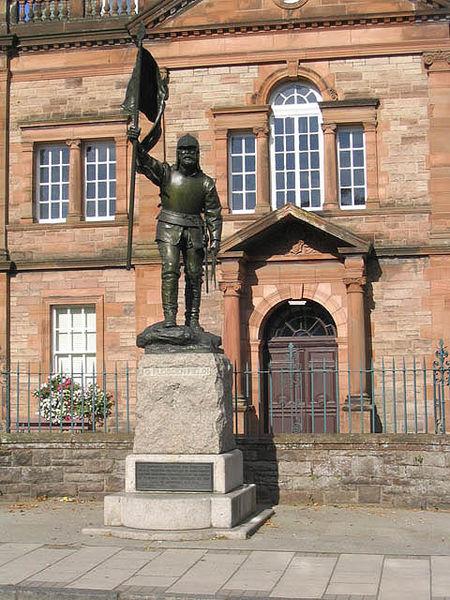 The Fletcher Statue in Selkirk Wikimedia