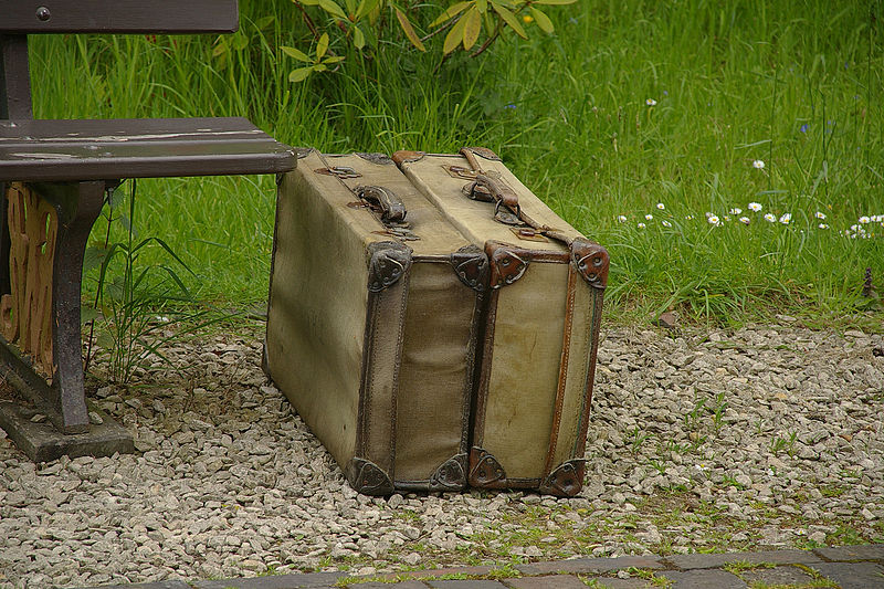 Old luggage at Arley railway station on the Severn Valley Railway Wikimedia