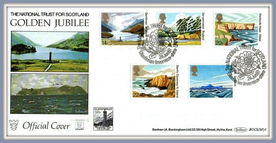 1981-National-Trust-First day-Cover