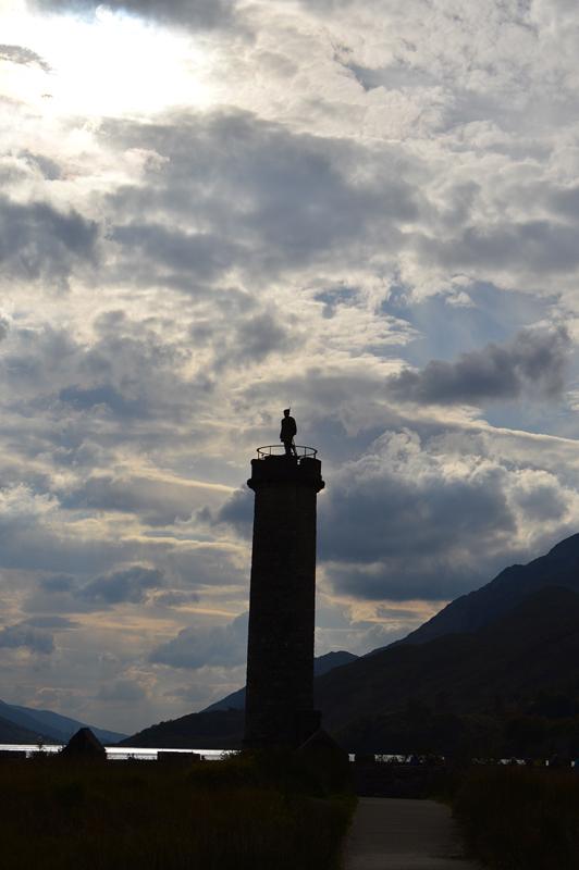 glenfinnan monument scotland bonnie prince charlie