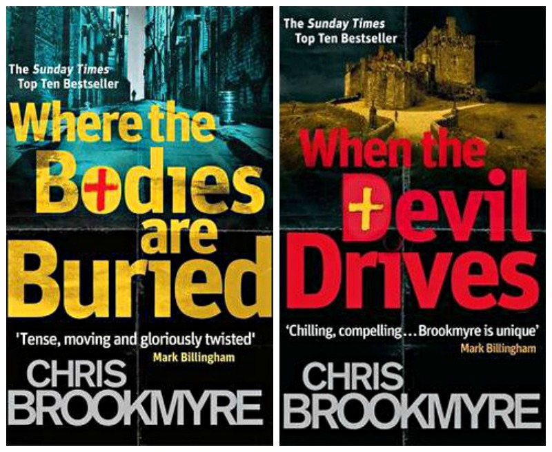 Chris Brookmyre's last two novels