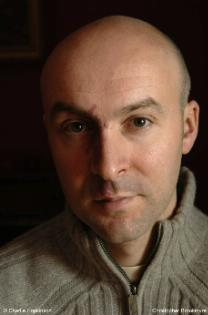 Christopher Brookmyre Scottish author of detective novels