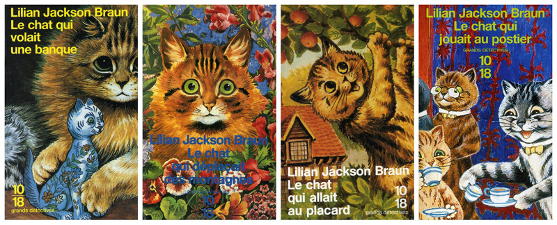 Lilian Jackson Brown Série Grands Détectives 10-18