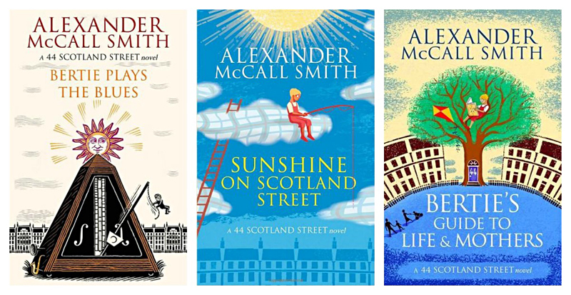 McCall Smith  44 Scotland Street Series Last three novels 2013