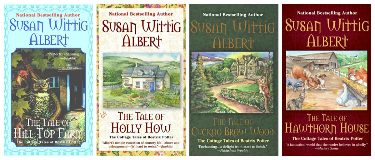 Susan Wittig Albert The Cottage Tales first four novels