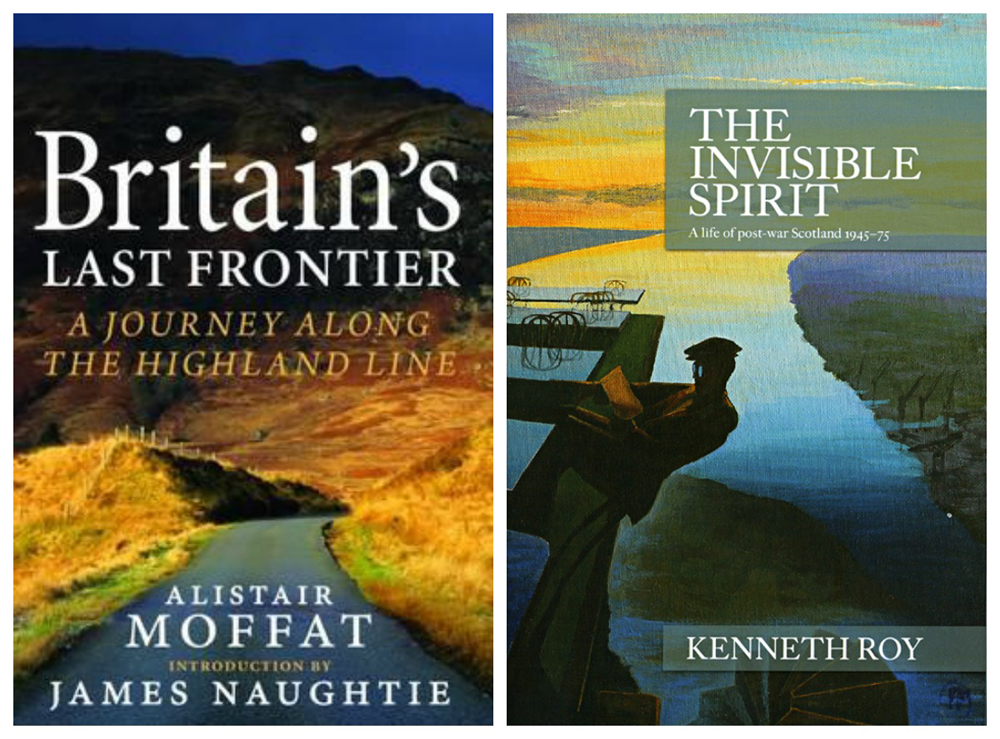 Two books of history by Alistair Moffat and Kenneth Roy