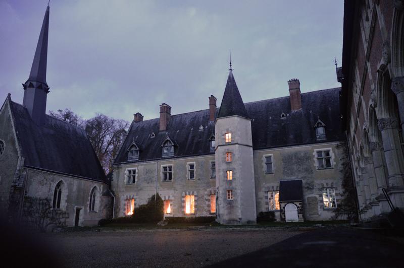 Château de la Verrerie chapel and east aisle © 2014 Scotiana