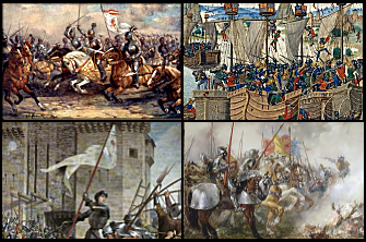 Hundred Years' Wars montage Wikipedia