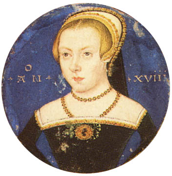Portrait of an unknown lady by Levina Teerlin c1550 Yale University