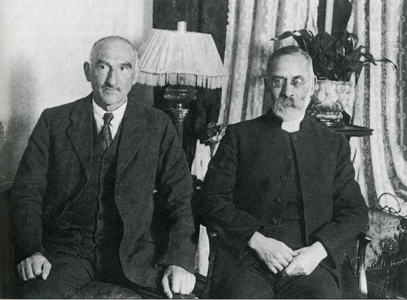 Oscar Slater with his friend, Rabbi Phillips around 1927The Herald and Evening Times