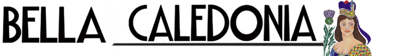 Bella Caledonia logo after an Alasdair's Gray painting