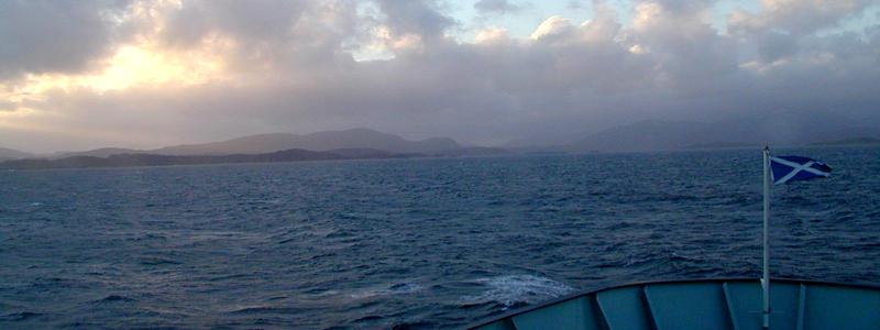 Uig-Tarbert Caledonian MacBrayne ferry © 2003 Scotiana