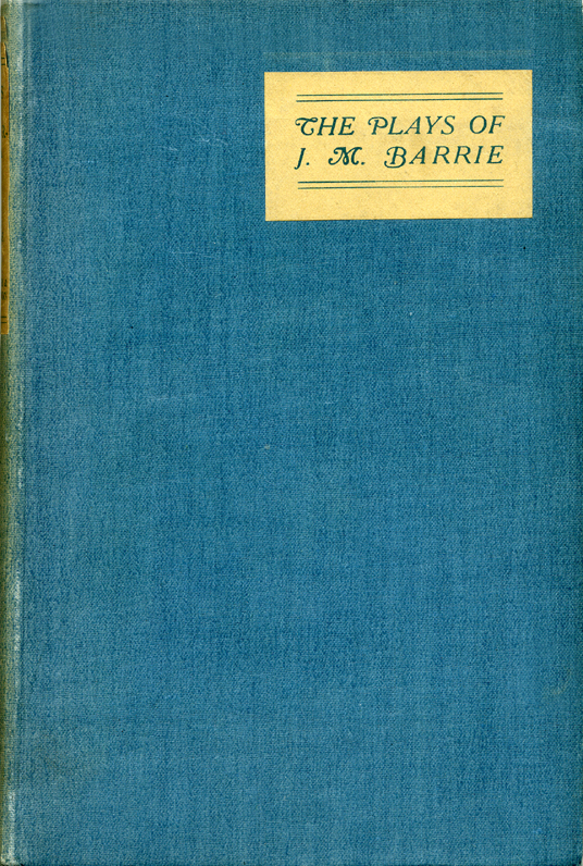 The plays of JM Barrie Hodder and Stoughton 1920