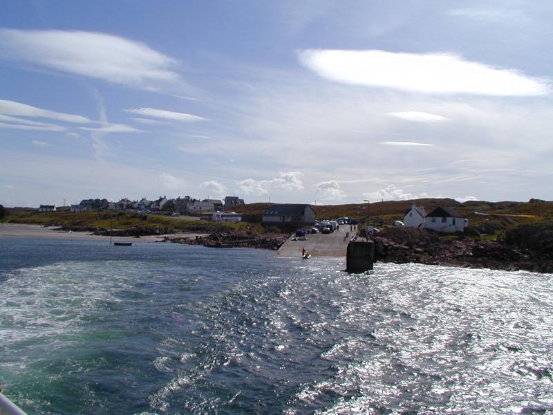 Fionnphort ferry terminal © 2003 Scotiana