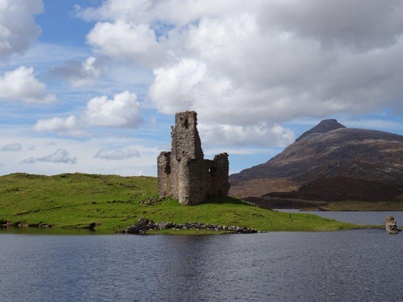 Ardverck Castle in Scotland