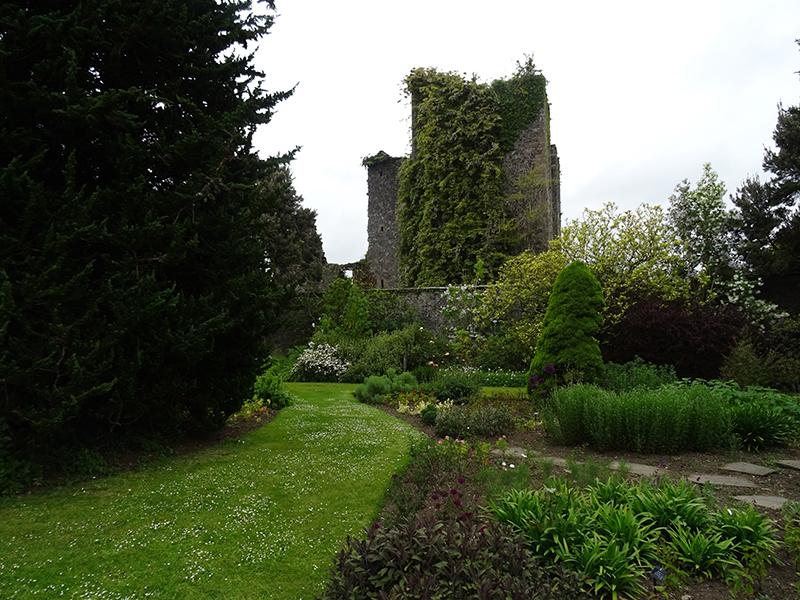 Castle Kennedy from Walled Garden Castle Kennedy © 2015  © 2015 Scotiana