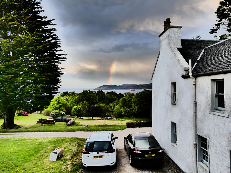 Crossaig Lodge B&B in Kintyre © 2015 Scotiana