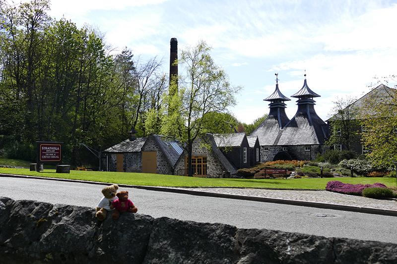 Strathisla distillery © 2015 Scotiana