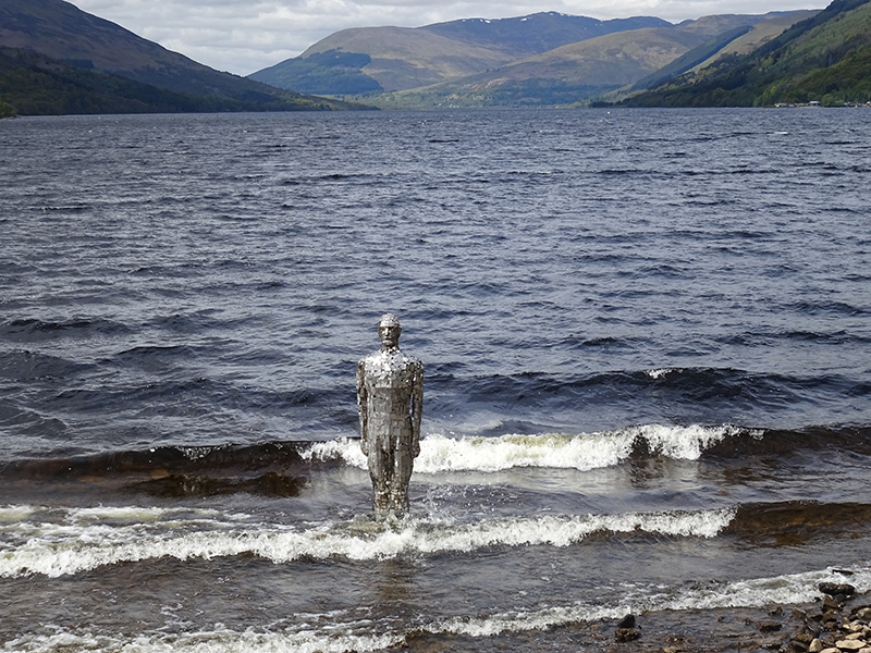 The iron man of Loch Earn in the Trossachs © 2015 Scotiana