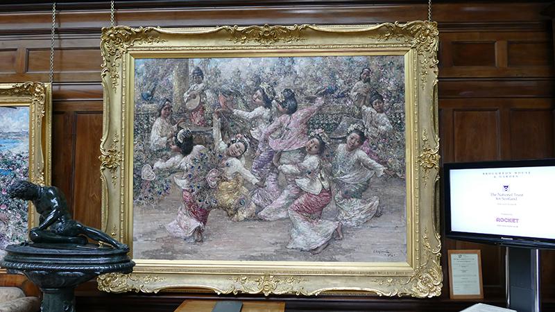 Broughton House Gallery Memories of Mandalay 1923 © 2015 Scotiana