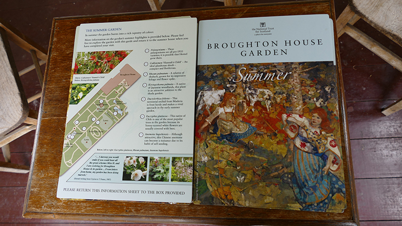 Broughton House summer information sheet © 2015 Scotiana