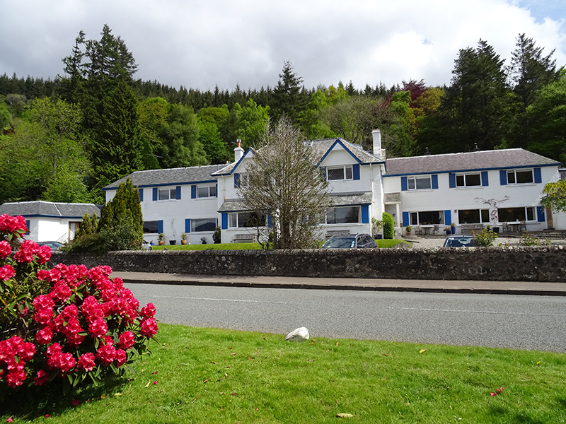 The Four Seasons Hotel near Loch Earn in Perthshire © 2015 Scotiana