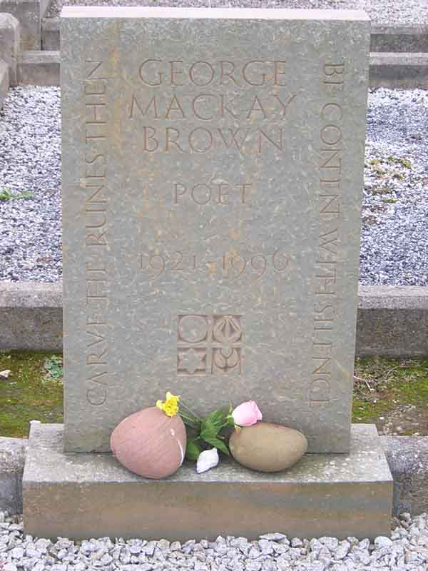 GMB's grave Warbeth Cemetery Orkney © 2003 Scotiana