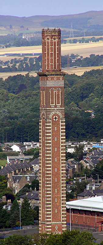 Cox's Stack - Lochee Park - Dundee - Source Wikipedia