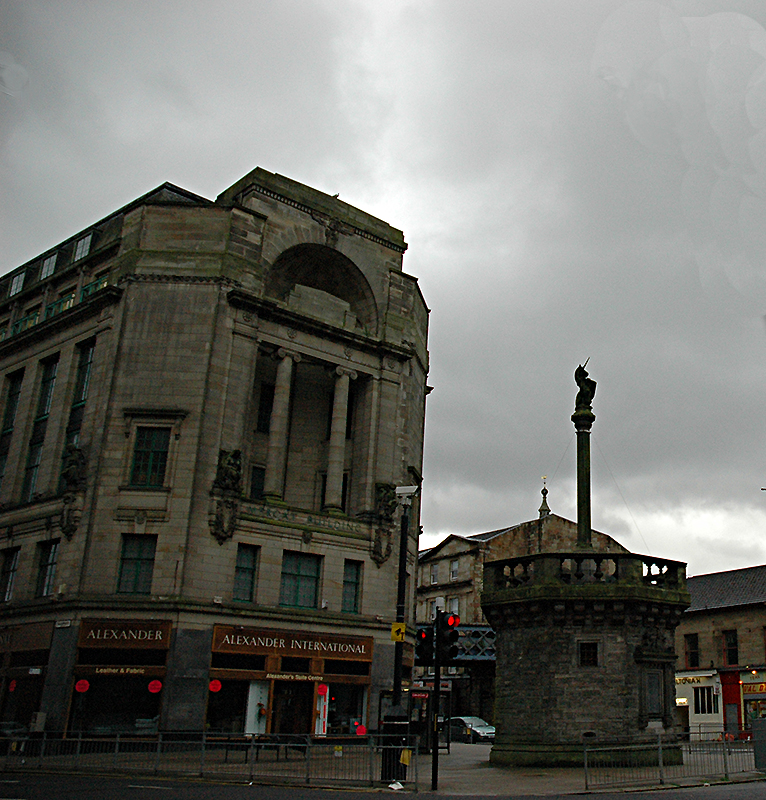 Glasgow Unicorn Mercat Cross - Scotland
