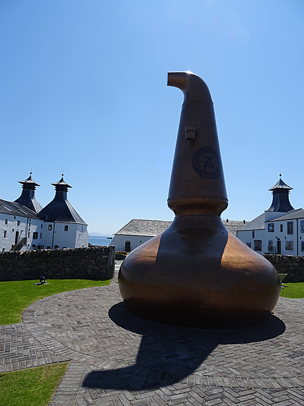 Ardbeg Distillery copper still © 2015 Scotiana