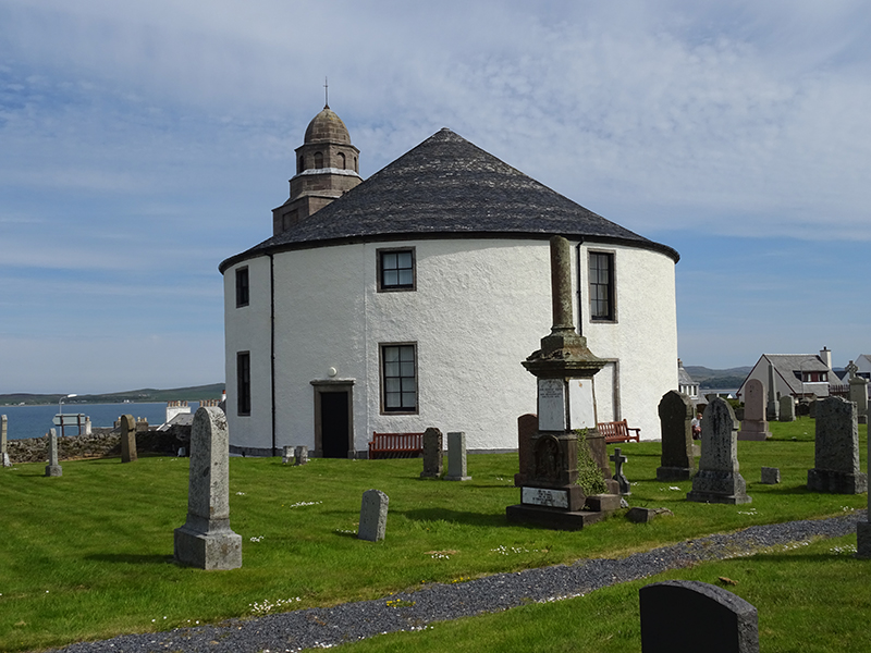 Islay Bowmore round church © 2015 Scotiana