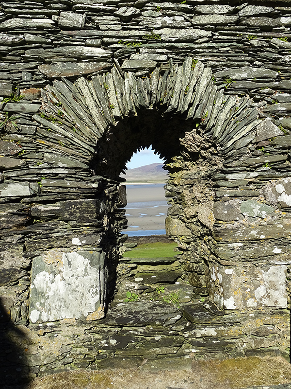 Islay Kilnave Chapel arched door © 2015 Scotiana