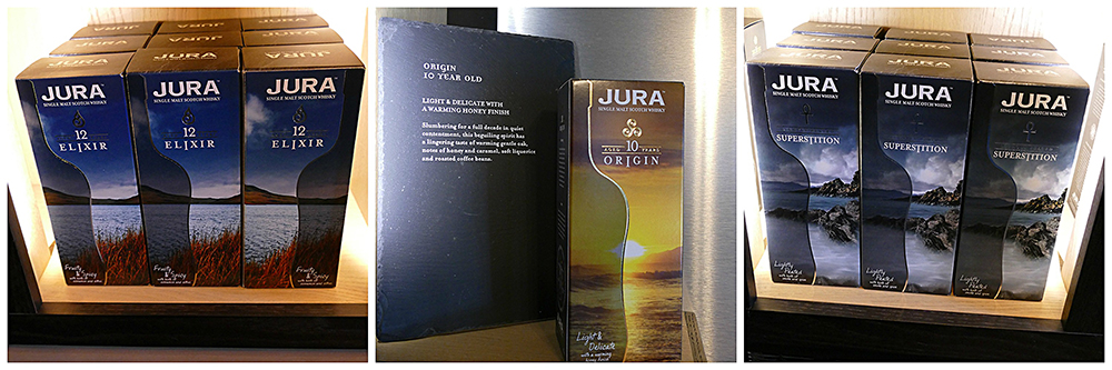 Jura Elixir Origin Superstition whiskies © 2015 Scotiana