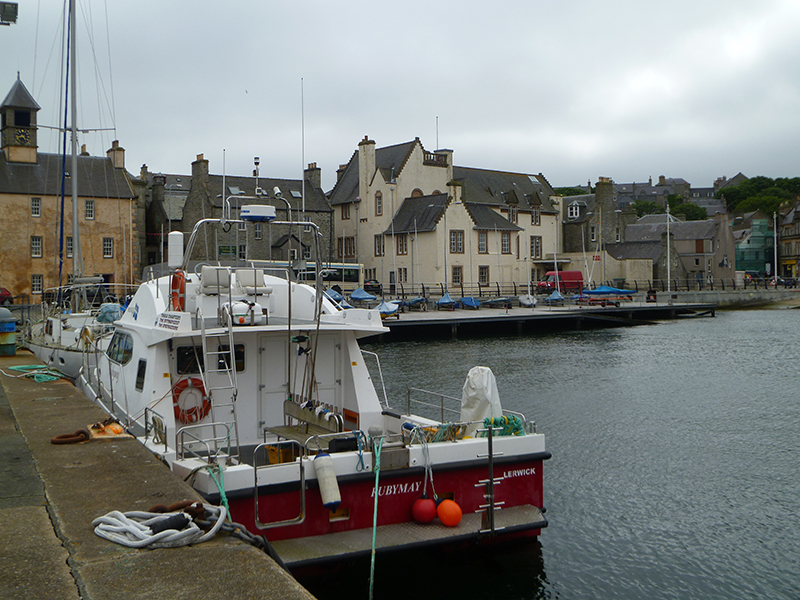 lerwick-harbour-with-the-old-tolbooth-in-the-background-iain-macewan-2014