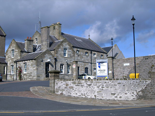 Lerwick prison and police station - geograph.org.uk Wikimedia
