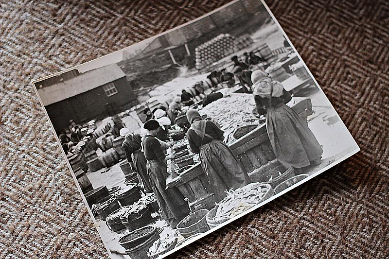 Old photo of herring gutters in Shetland  © Ella Gordon 2015-07 img_5955