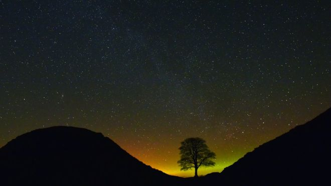 Aurora Highlands Scotland BBC