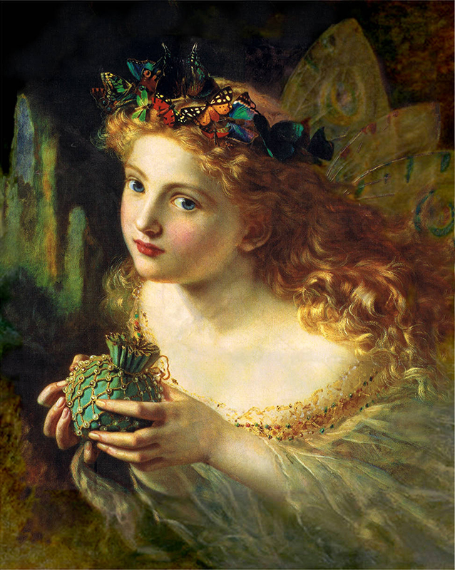 Painting by Sophie Gengembre Anderson (1823 – 10 March 1903)