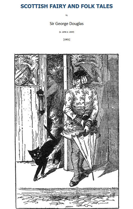 Scottish Folk & Fairy Tales Sir George Douglas Lomond 2003 title page illustration