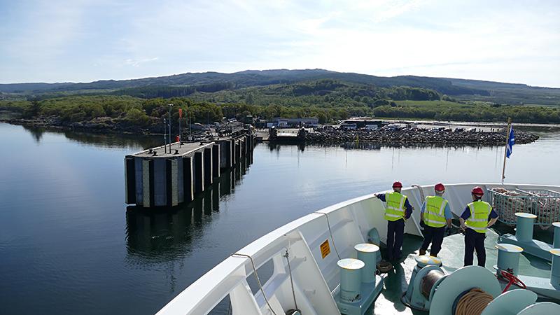 Kintyre Kennacraig ferry terminal © 2015 Scotiana