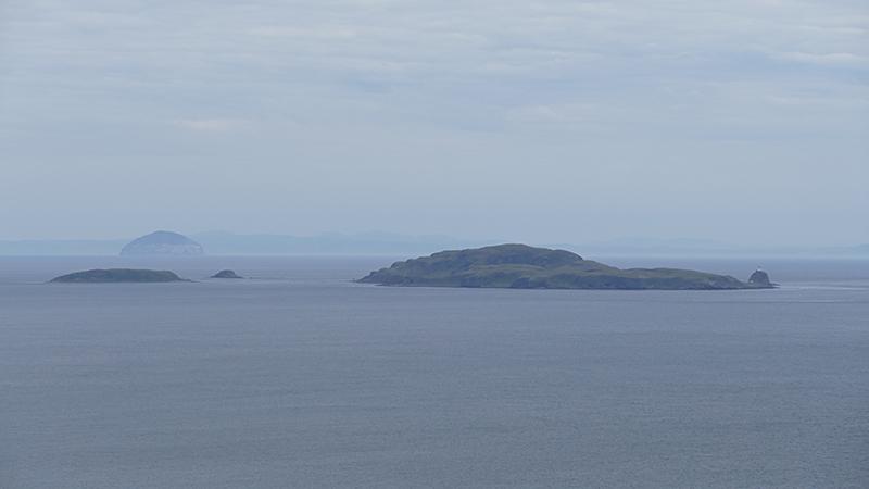 Kintyre Southend Sanda Island and Ailsa Craig © 2015 Scotiana