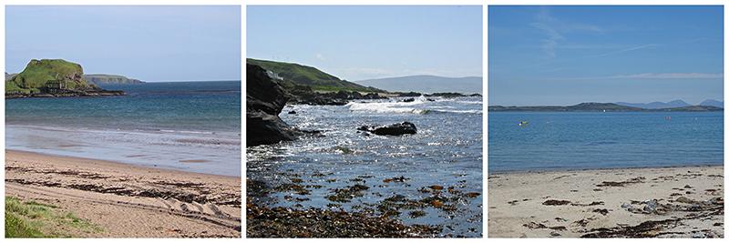 Views of the Kintyre seashore © 2015 Scotiana