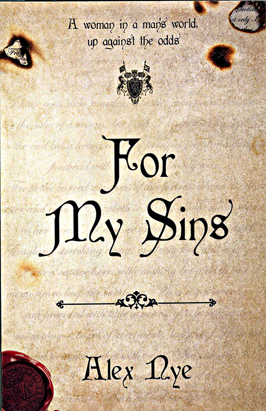 For My Sins Alex Nye Fledging Press Ltd 2017