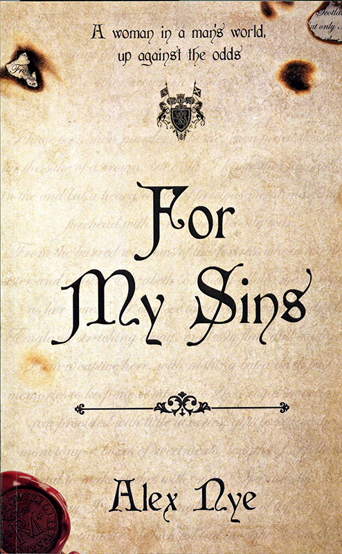 For My Sins Alex Nye Fledgling Press 2017