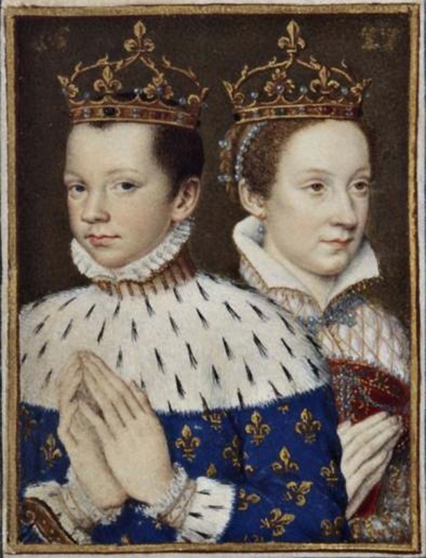 François II and Marie Stuart Livres d'Heures de Catherine de Médicis