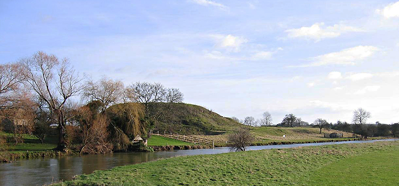The motte of Fotheringhay Castle viewed from across the River Nene Wikipedia