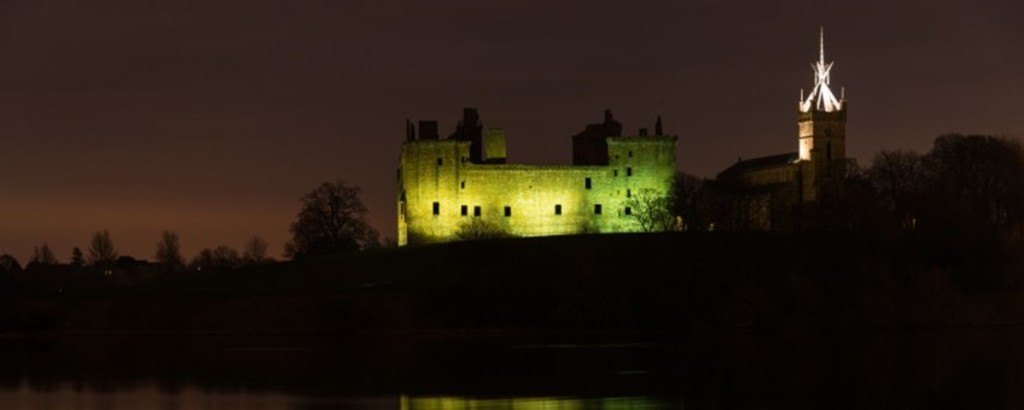 Linlithgow by night © Historic Environment Scotland