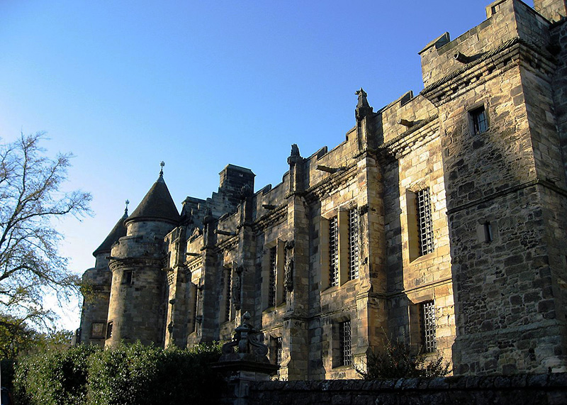 Falkland Palace South Range Outer Front  Wikimedia